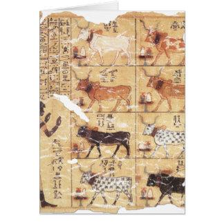 Libro del Dead-Maiherperi-1479bc Tarjeta De Felicitación