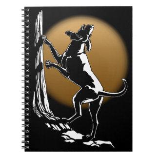 Libro del diario del perro del cuaderno del perro