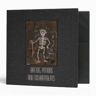 """Libro del esqueleto antiguo fantasmagórico del BOS Carpeta 2"""""""