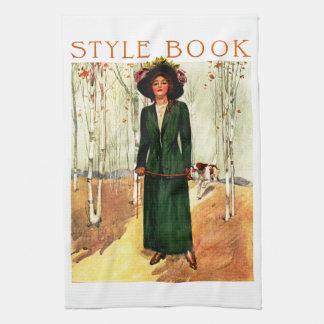 Libro del estilo toallas de mano
