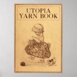 Libro del hilado de Utopía Posters