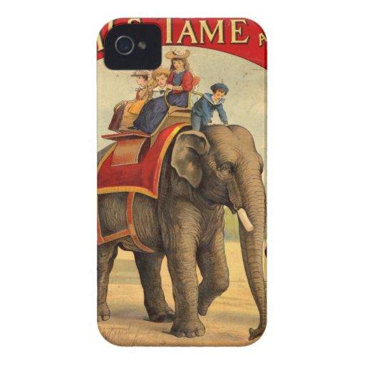 Libro del rojo del elefante iPhone 4 Case-Mate funda
