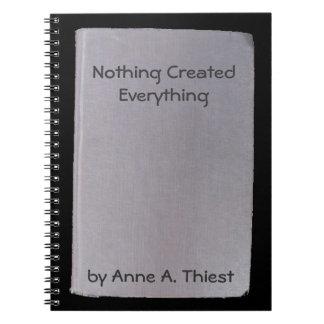 Libro falso, creación divertida del autor no.5 libros de apuntes con espiral