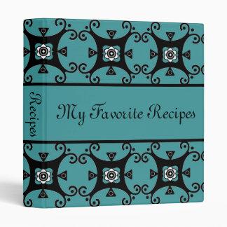 Libro floral de la receta de los remolinos del zaf