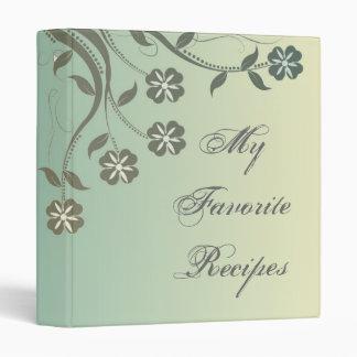 Libro floral soleado y del pistacho del remolino d