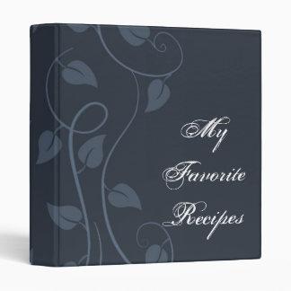 Libro frondoso de la receta del remolino del zafir