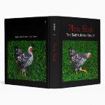 """Libro hermoso de la foto de la gallina (1"""")"""