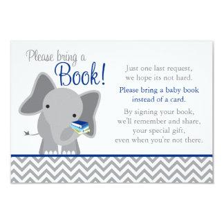 """Libro lindo de la fiesta de bienvenida al bebé de invitación 3.5"""" x 5"""""""