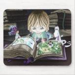 Libro mágico alfombrilla de ratones