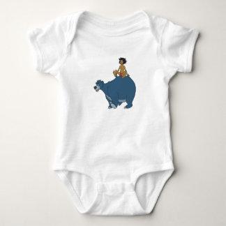 Libro Mowgli Baloo Disney de la selva Body Para Bebé