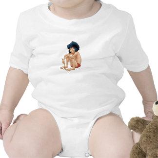 Libro Mowgli de la selva de Disney Camisetas