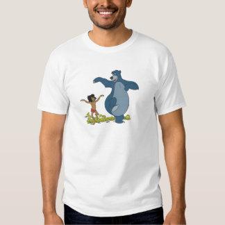 Libro Mowgli y Baloo de la selva que bailan Disney Playeras