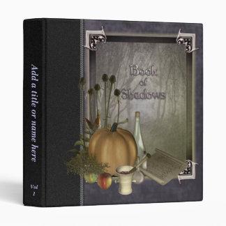 """Libro natural de la bruja de sombras 1"""" carpeta de"""