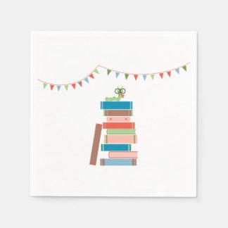 Libro para la servilleta de la fiesta de servilletas de papel