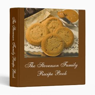 Libro personalizado personalizado de la receta