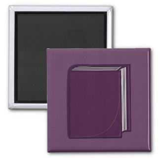 Libro púrpura - PurpleBkg Imanes De Nevera