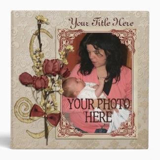 Libro secado de la foto de las flores