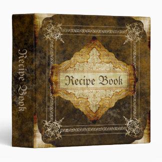 """Libro viejo de la receta carpeta 1 1/2"""""""