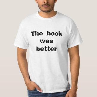 Libro y película remeras