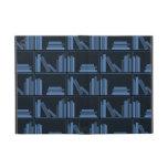 Libros azul marino en estante iPad mini cárcasas