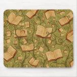 Libros (color 3) tapete de raton