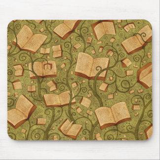 Libros (color 3) tapetes de ratón