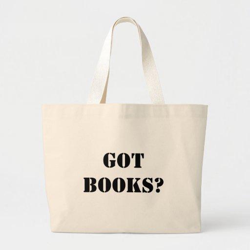 ¿Libros conseguidos? Bolsa Tela Grande