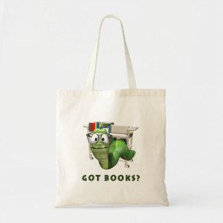 ¿Libros conseguidos? Ratón de biblioteca Bolsa Tela Barata