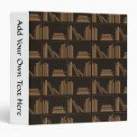 Libros de Brown oscuro en estante