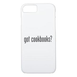 libros de cocina conseguidos funda iPhone 7