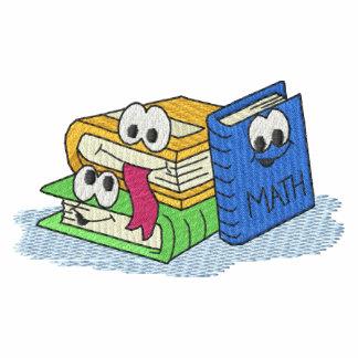 Libros de escuela camiseta polo