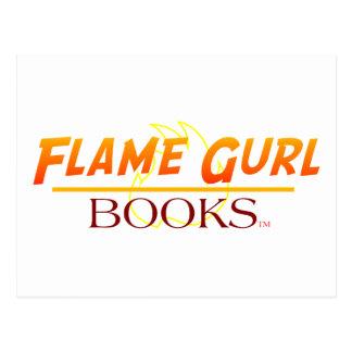 Libros de Gurl de la llama Tarjetas Postales