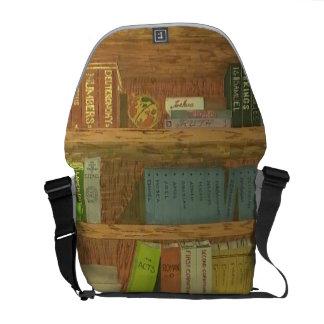 Libros de la biblia bolsa de mensajería