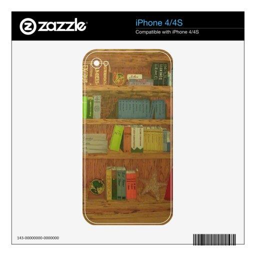 Libros de la biblia calcomanías para iPhone 4