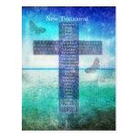 Libros de la biblia del nuevo testamento postal