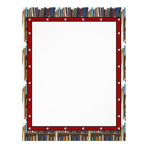Libros de la biblioteca membrete