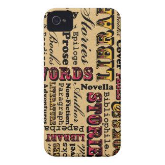 ¡Libros de los libros de los libros! Case-Mate iPhone 4 Protectores