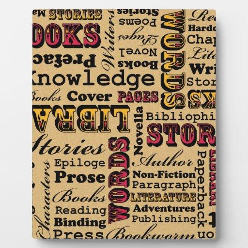 ¡Libros de los libros de los libros! Placas