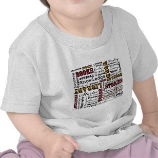 ¡Libros de los libros de los libros! Camisetas