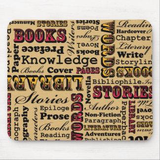 ¡Libros de los libros de los libros! Mouse Pad