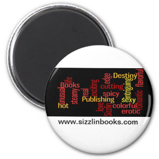 Libros de Sizzlin - imán