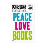 Libros del amor de la paz franqueo