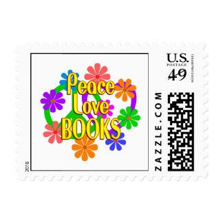 Libros del amor de la paz sellos