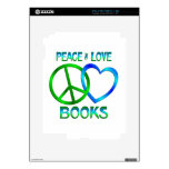LIBROS del amor de la paz Skin Para El iPad 2