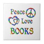 LIBROS del amor de la paz Teja