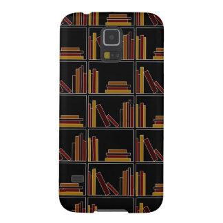 Libros del color de Brown, de Borgoña y de la Fundas Para Galaxy S5