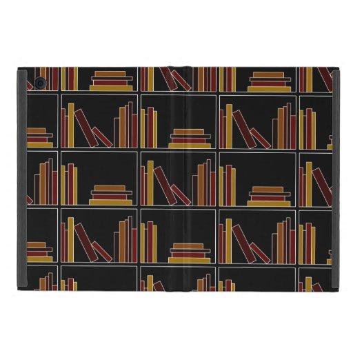 Libros del color de Brown, de Borgoña y de la most iPad Mini Protectores