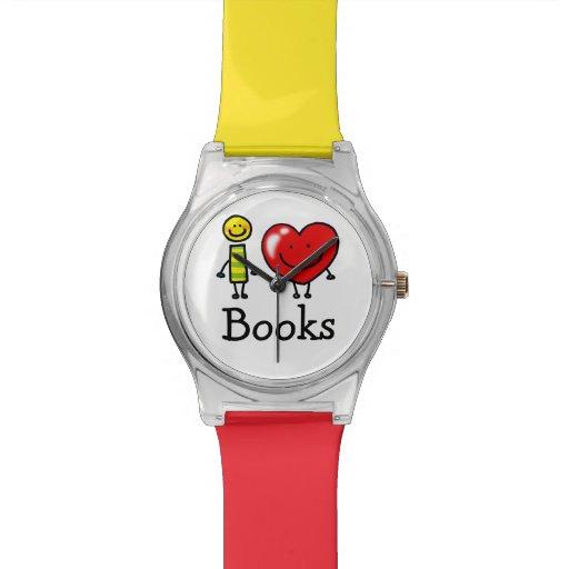 libros del corazón i relojes de mano