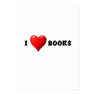Libros del corazón I Tarjeta Postal