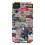 Libros del partido iPhone 4 Case-Mate cobertura